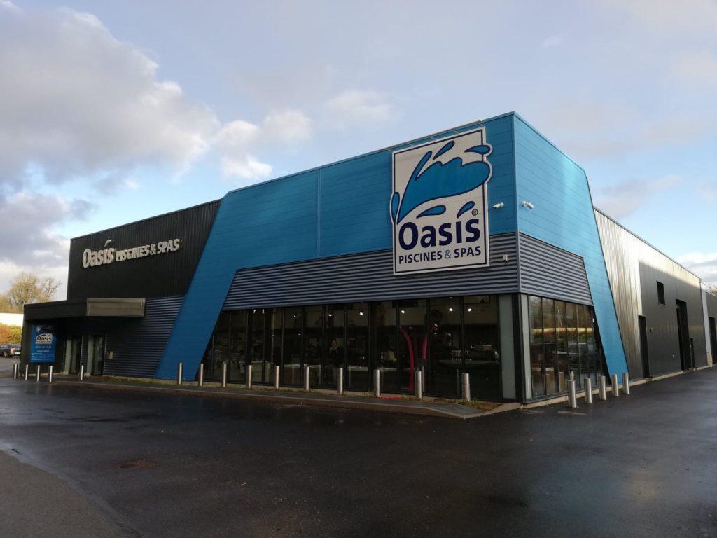 Oasis Piscines & Spas À Vieux-Charmont 25600 (Zone ... serapportantà Oasis Piscine Rixheim