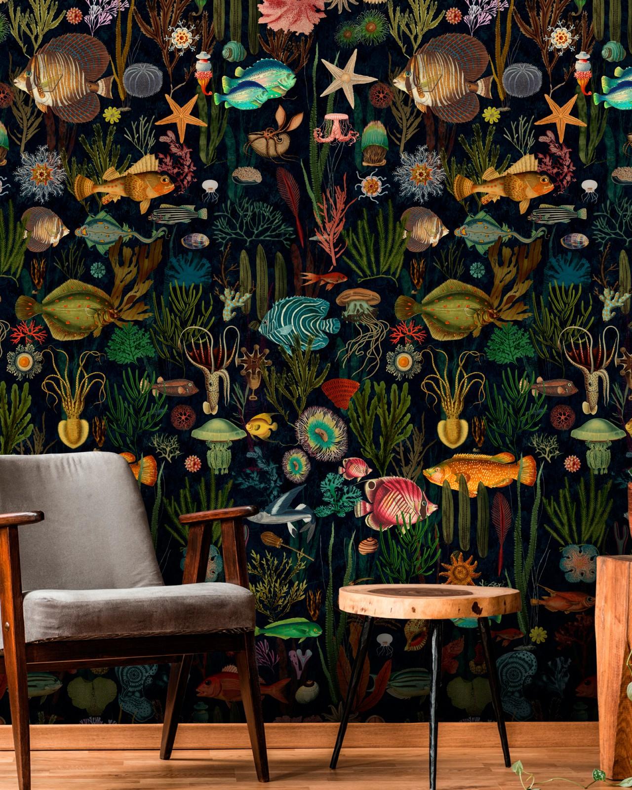 Oceania Wallpaper à Chaise Oceania