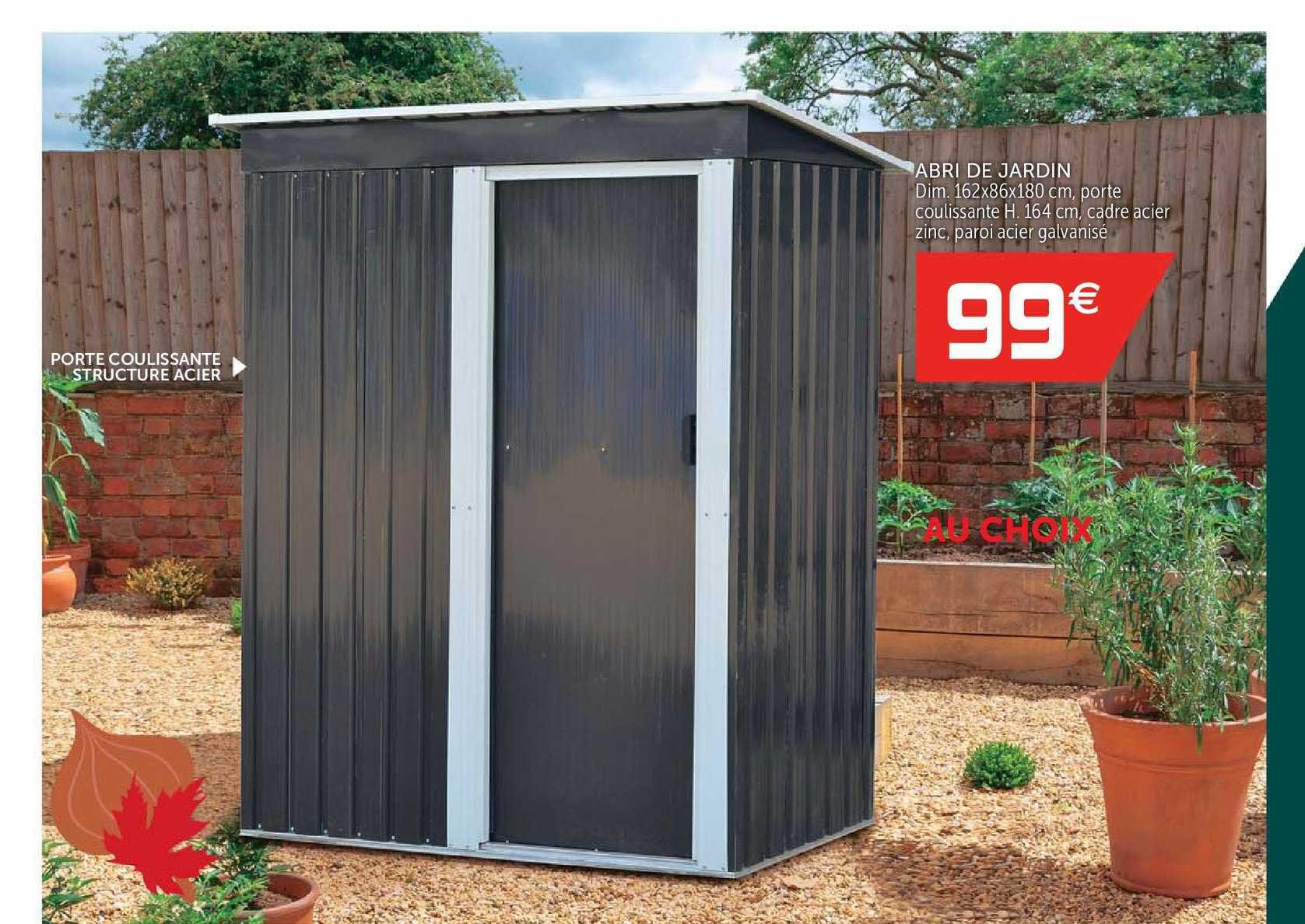 Offre Abri De Jardin Chez Gifi intérieur Abri De Jardin Hyper U