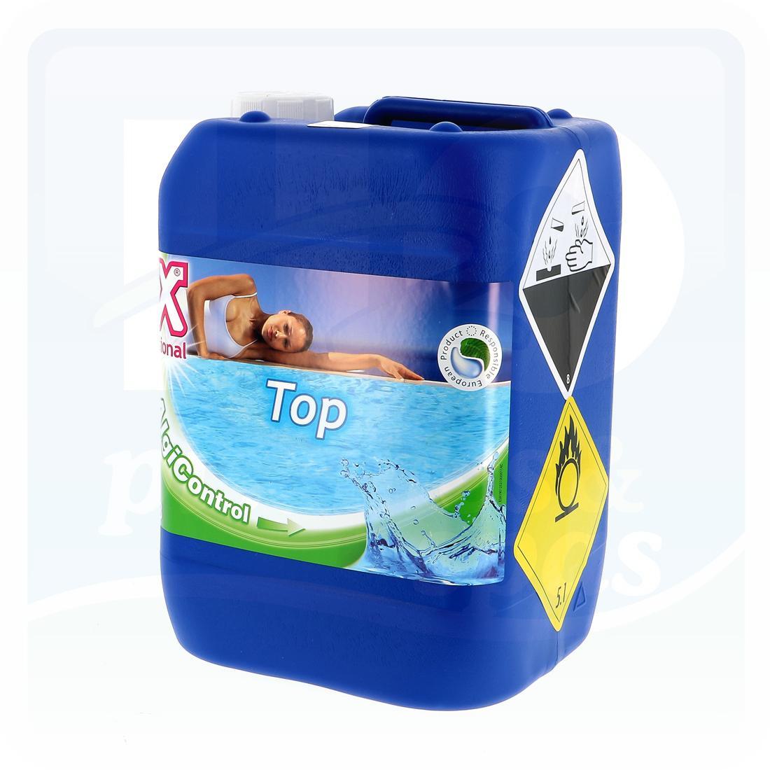 Oxygène Actif 35% Liquide En Bidon De 5 Litres - H2O Piscines & Spas encequiconcerne Dosage Oxygene Actif Piscine