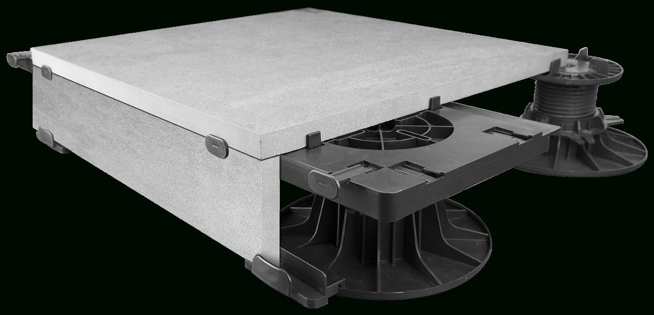 Pad-Kit-Bordure-Dalle_04_P - Roofmart tout Dalle Sur Plot Bordure