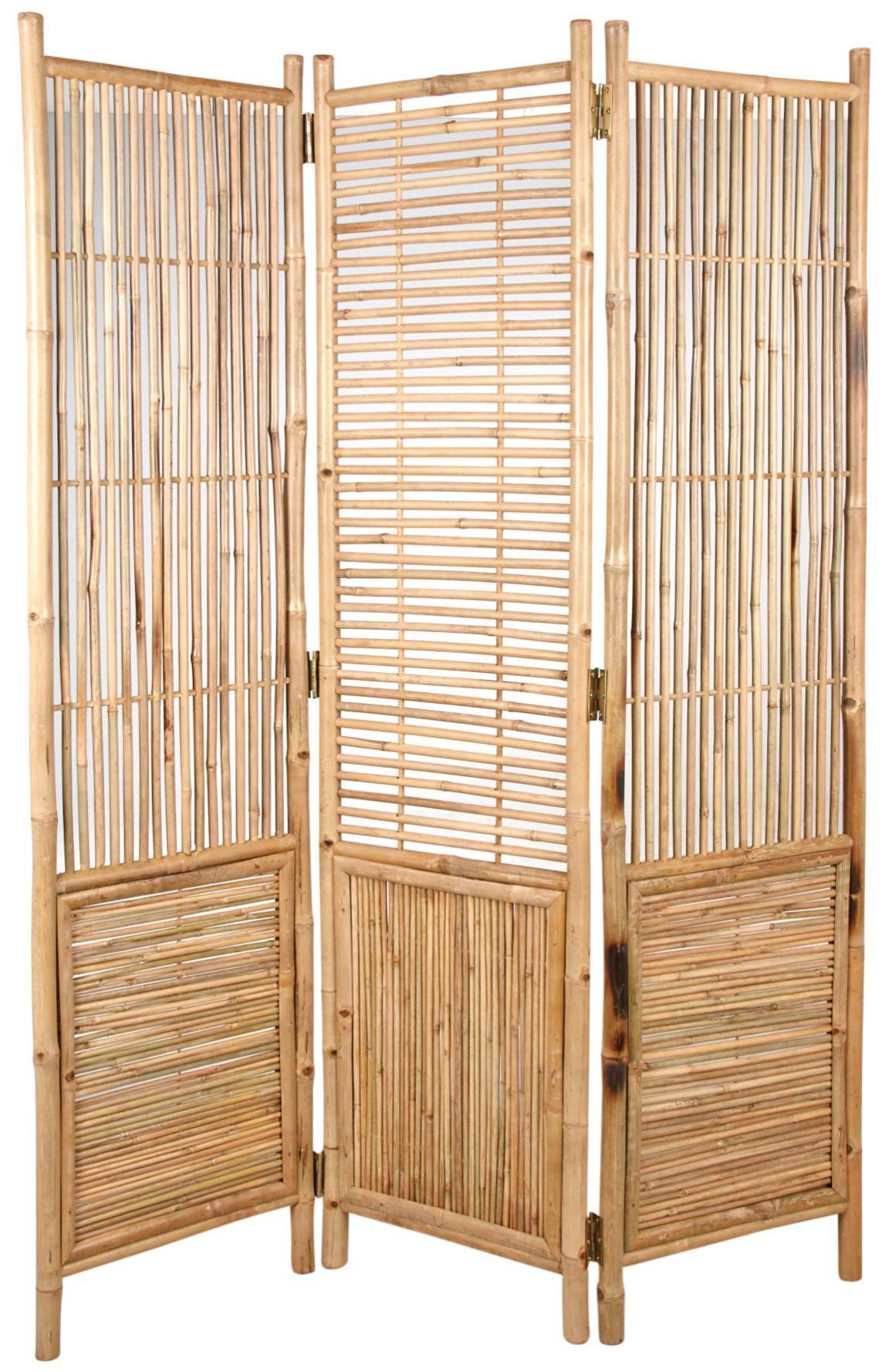 Paravent En Bambou 3 Panneaux Aubry Gaspard concernant Paravent Leroy Merlin