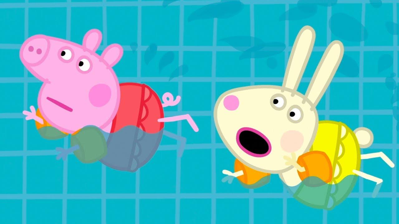 Peppa Pig Français 💧 Tous À La Piscine ! 💧 Épisodes Complets   Dessin  Animé Pour Bébé avec Jeux De Peppa Pig A La Piscine