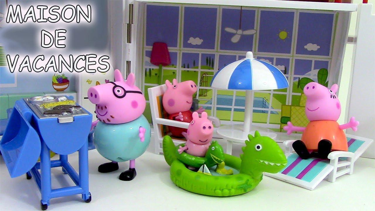 Peppa Pig Maison De Vacances Holiday Sunshine Villa Playset ♥ Jouets De  Peppa Pig En Francais pour Jeux De Peppa Pig A La Piscine