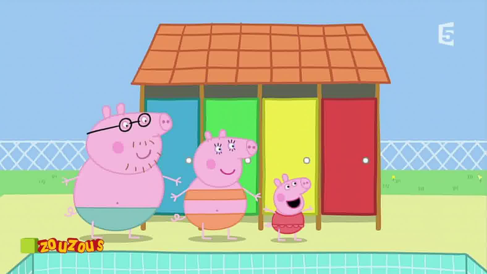 Peppa Pig - Vendredi 29 Décembre 2017 - Page 1 Sur 1 avec Jeux De Peppa Pig A La Piscine