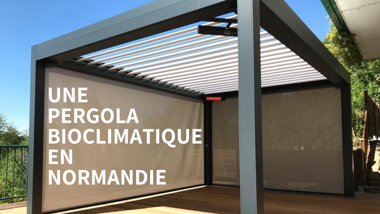 Pergola Bioclimatique À Rouen | Normandie | Nuances De Vérandas encequiconcerne Pergola Bioclimatique Rouen
