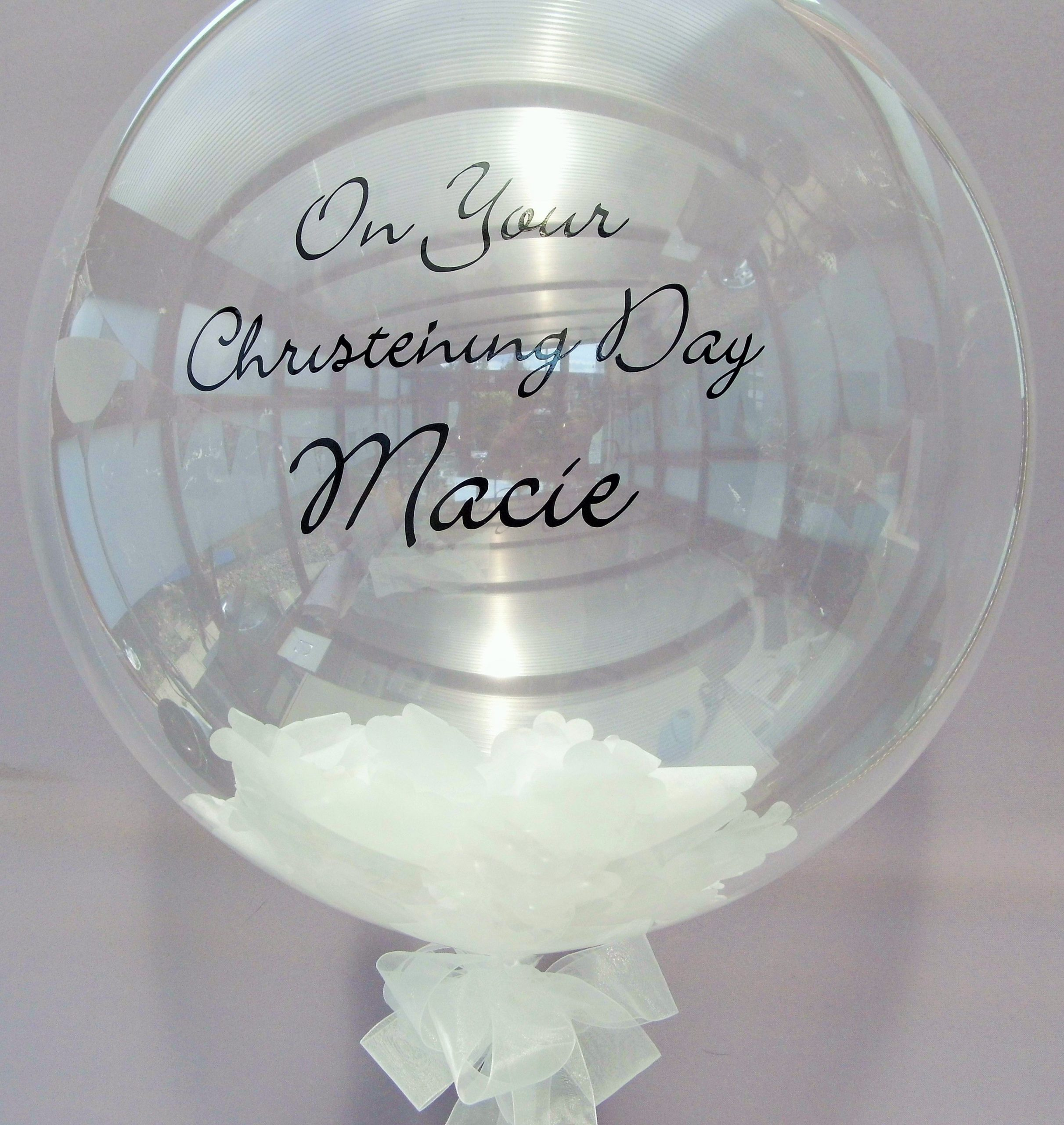 Personalise Your Bubble Balloons For Every Special Occasion ... dedans Bubble Occasion