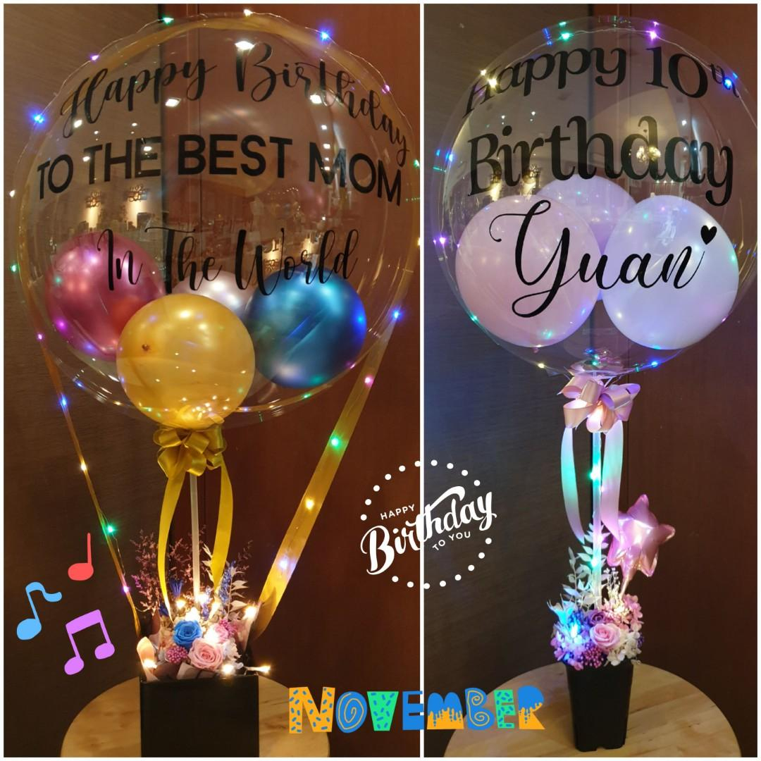 Personalised Birthday Bubble Balloon For Birthday ... destiné Bubble Occasion
