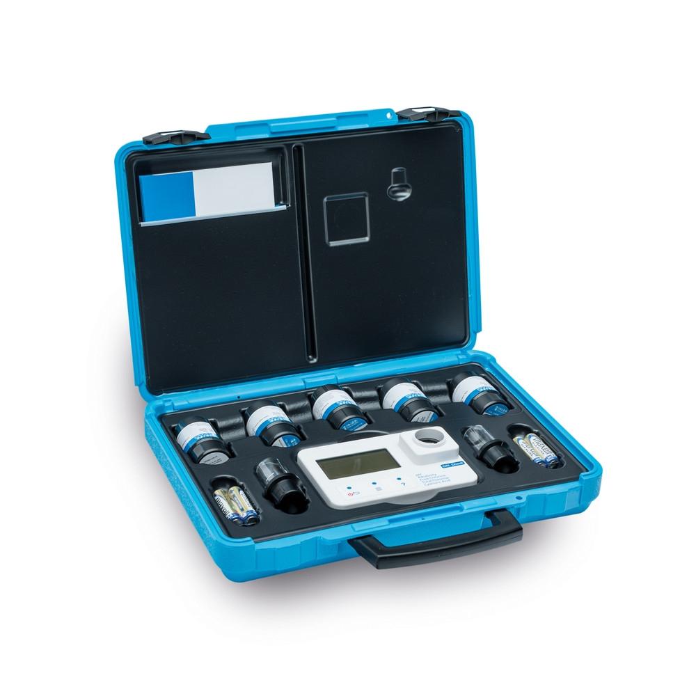 Photomètre Hanna Instruments, Piscine, Mallette Avec Solutions Étalons à Photomètre Piscine