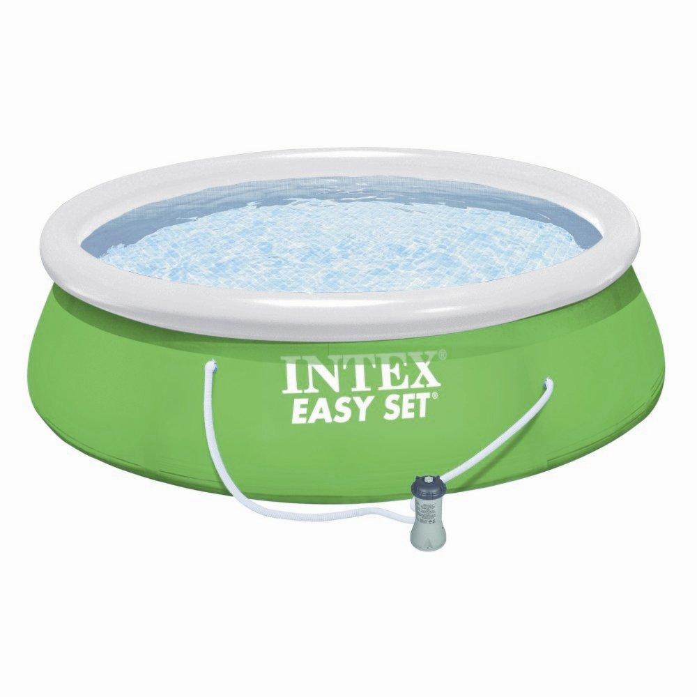 Piscine Autoportée Intex Easy Set Diamètre 3.66M - Piscine ... pour Piscine Intex Autoportante