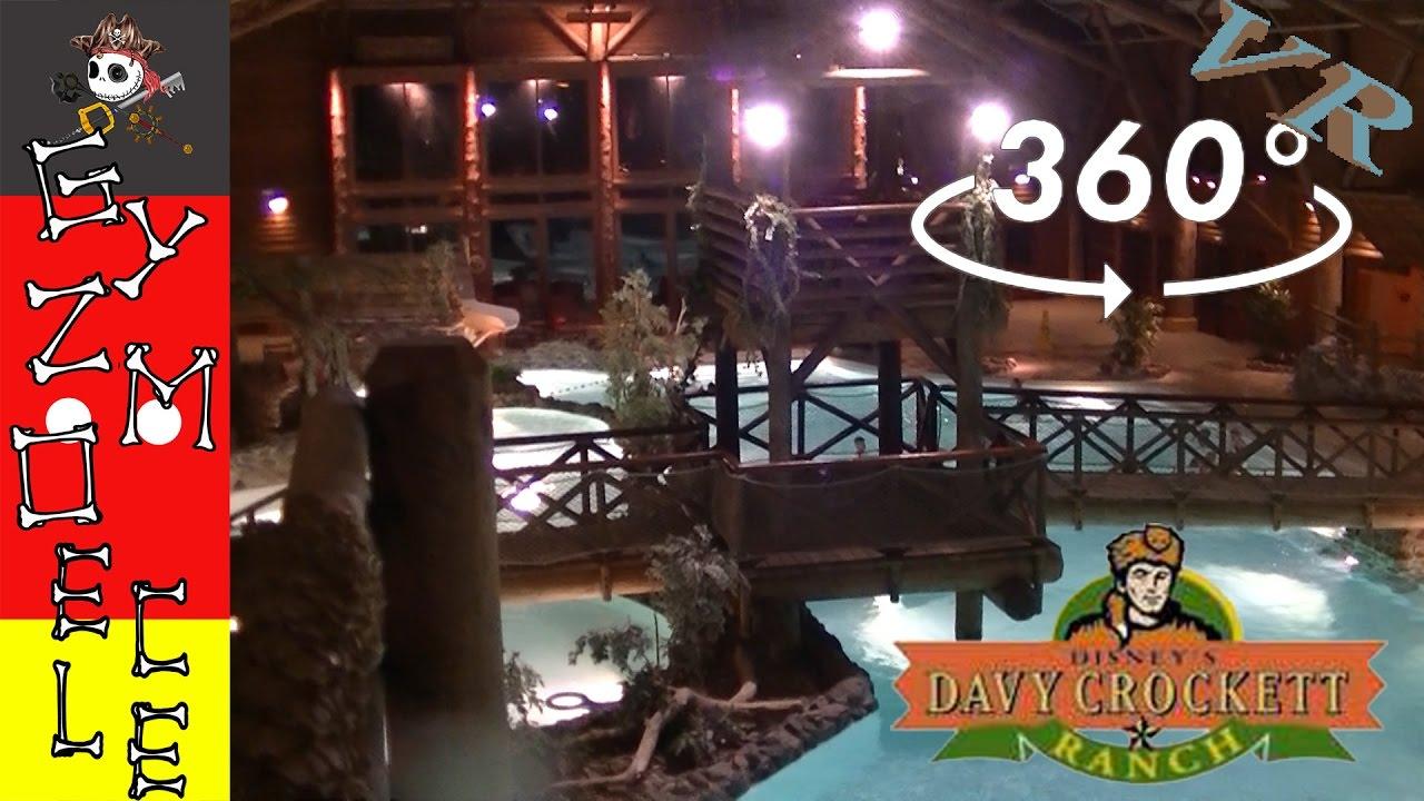 Piscine Davy Crockett Ranch [360 Vr]: Disneyland Paris avec Piscine Davy Crockett