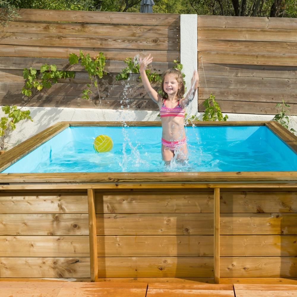 Piscine Hors-Sol Bois Tropic Junior Proswell intérieur Piscine Proswell