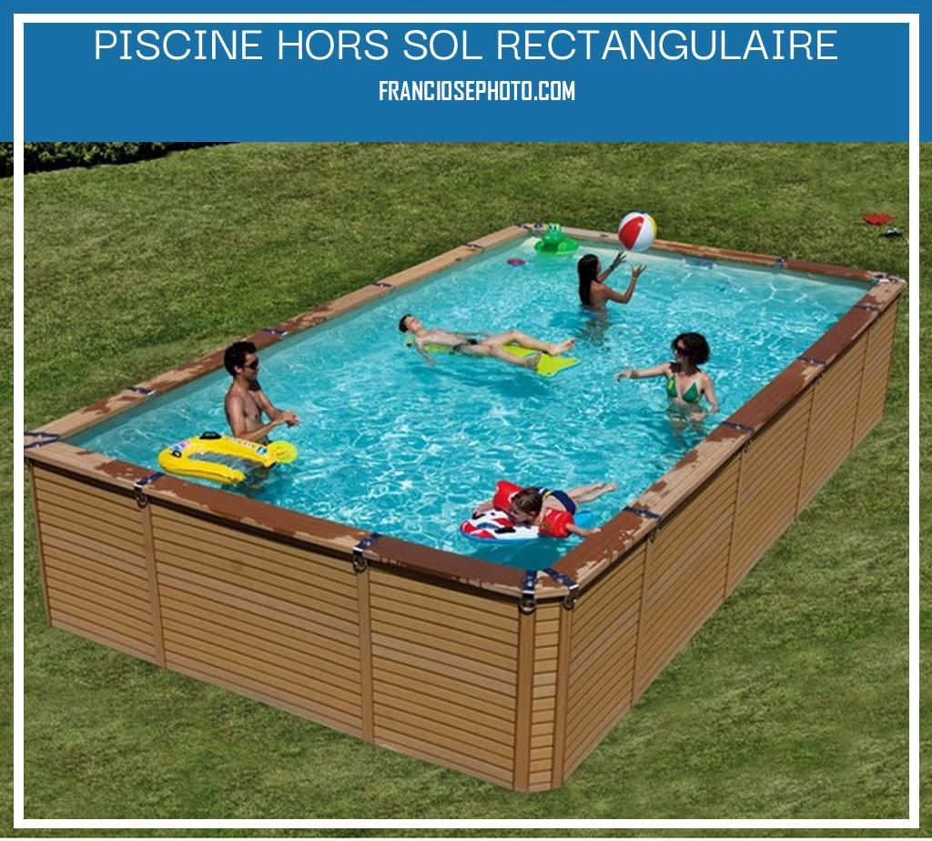 Piscine Hors Sol Rectangulaire | Piscine Hors Sol ... avec Piscine Hors Sol Pvc