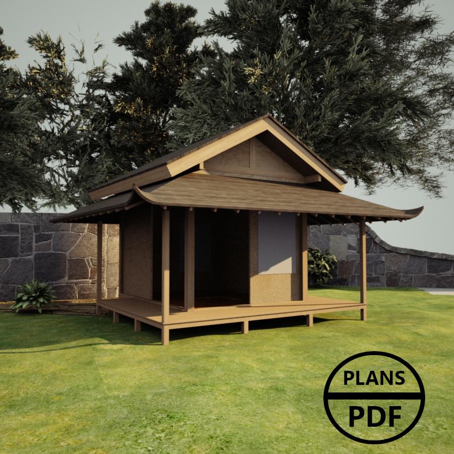 Plan Abri De Jardin En Bois : Plans En Pdf À Télécharger concernant Conception Abri De Jardin