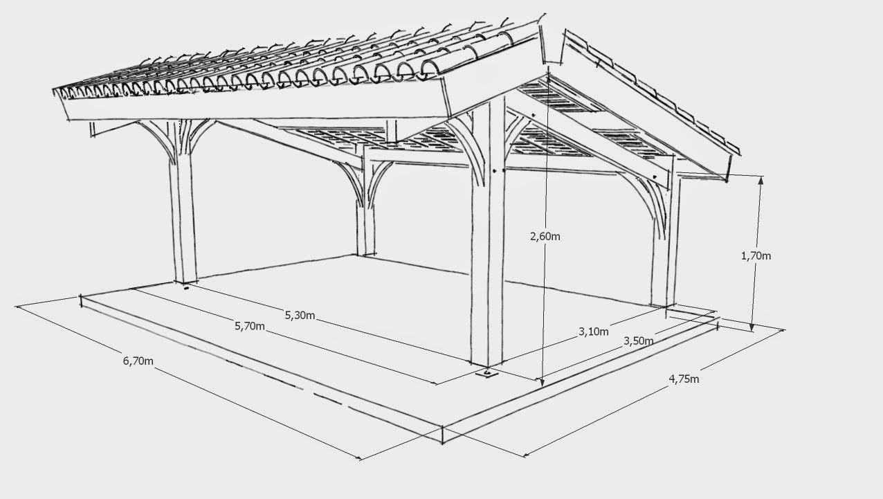 Plano De Garagem Plano De Madeira Carport 2 Carros Pdf Plano ... tout Plan Abri De Jardin Pdf Gratuit