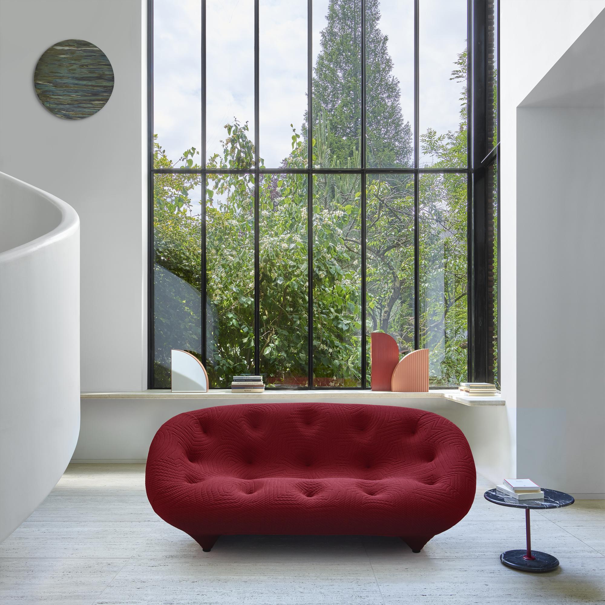 Ploum De Ligne Roset Canapés Du Designer R. & E. Bouroullec ... concernant Pouf Bubble Occasion