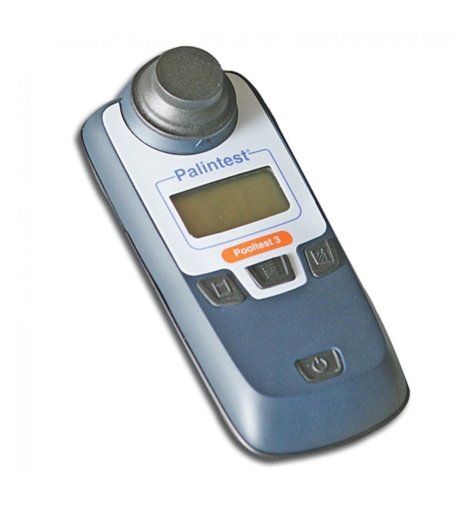 Pooltest 3 Palintest Photomètre Chlore, Ph, Stabilisant Piscine concernant Photomètre Piscine