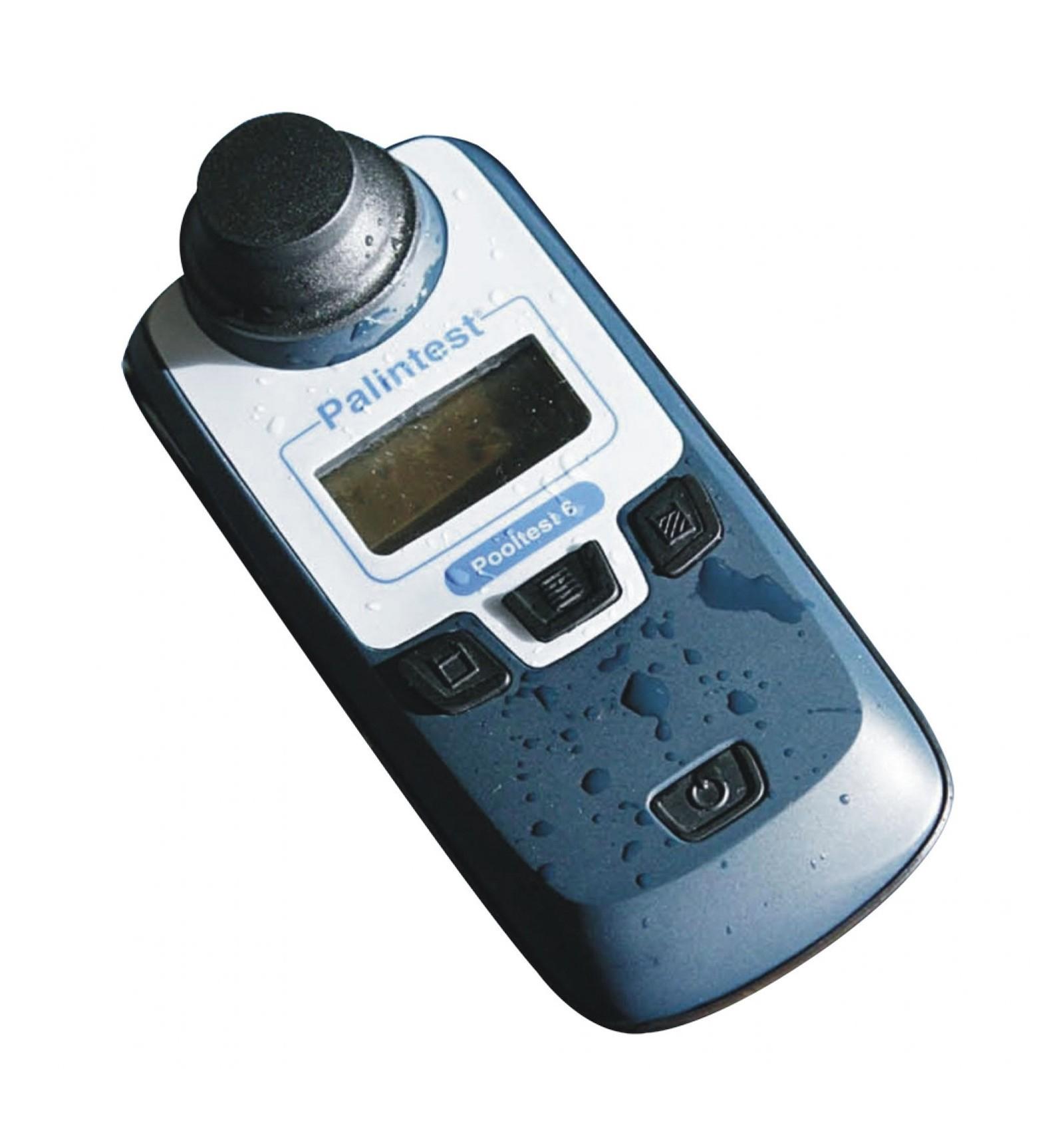 Pooltest 6 Palintest Photomètre Chlore,Ph,Stabilisant,Tac,Th ... serapportantà Photomètre Piscine