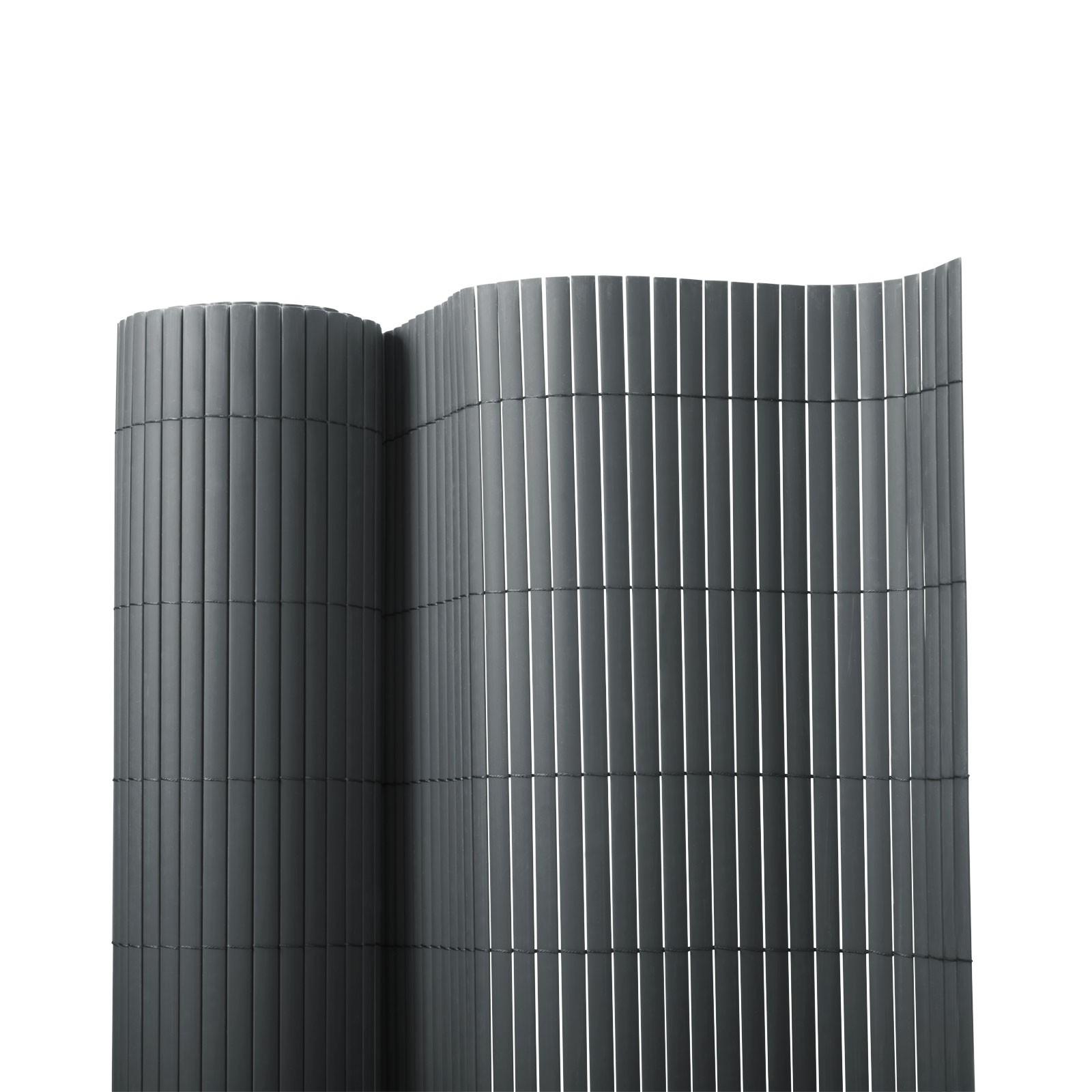 Pvc-Sichtschutzzaun | Grau | 7 Größen encequiconcerne Pvc-Unique.de