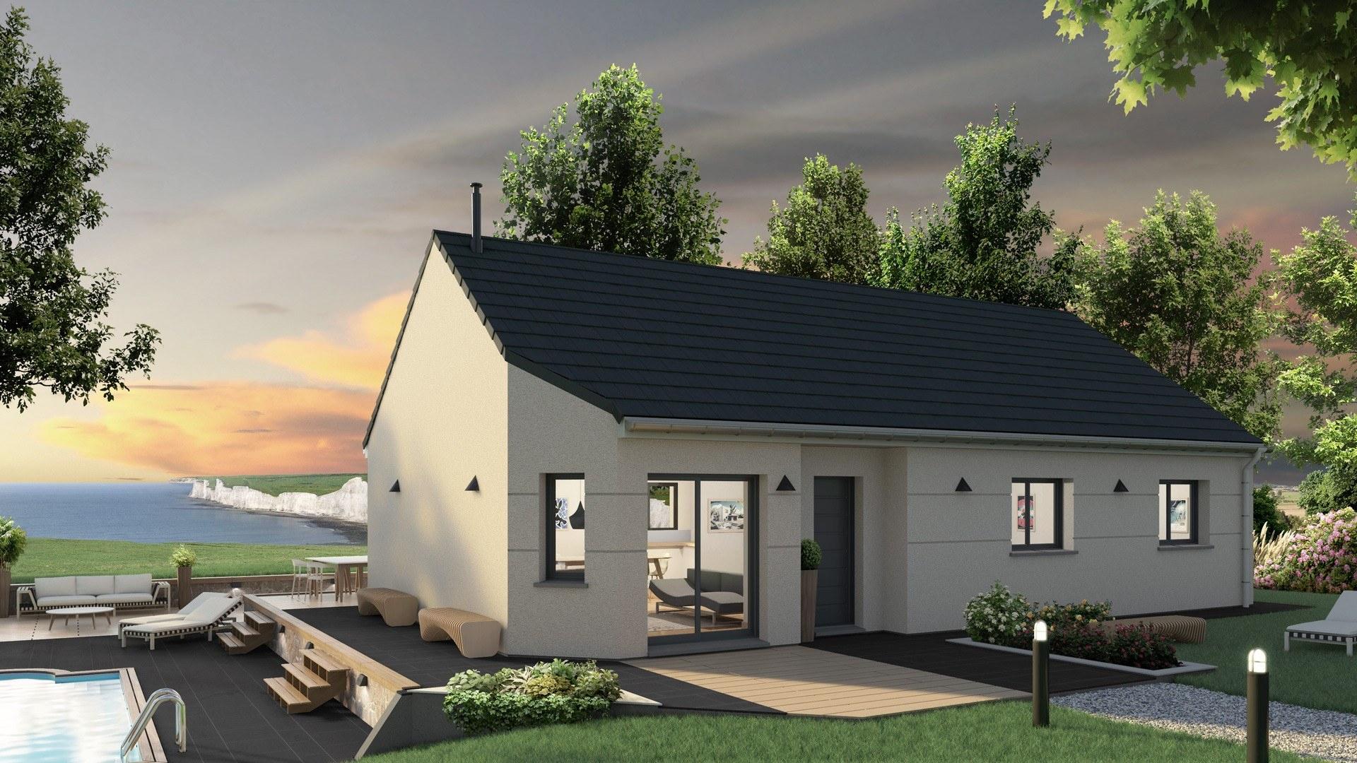 Quel Type De Maisons Est Fait Pour Vous - Les Maisons Extraco serapportantà Aménagement Extérieur Maison Plain Pied