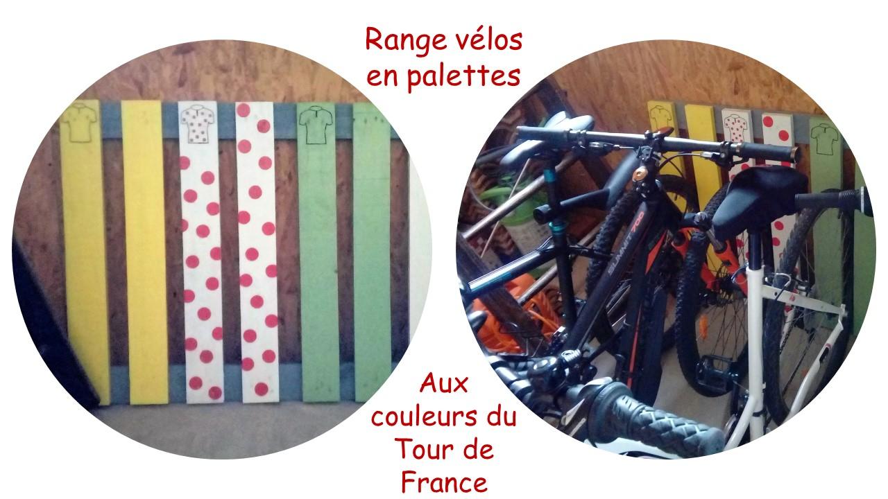 Range Vélos En Palettes à Range Vélo Palette