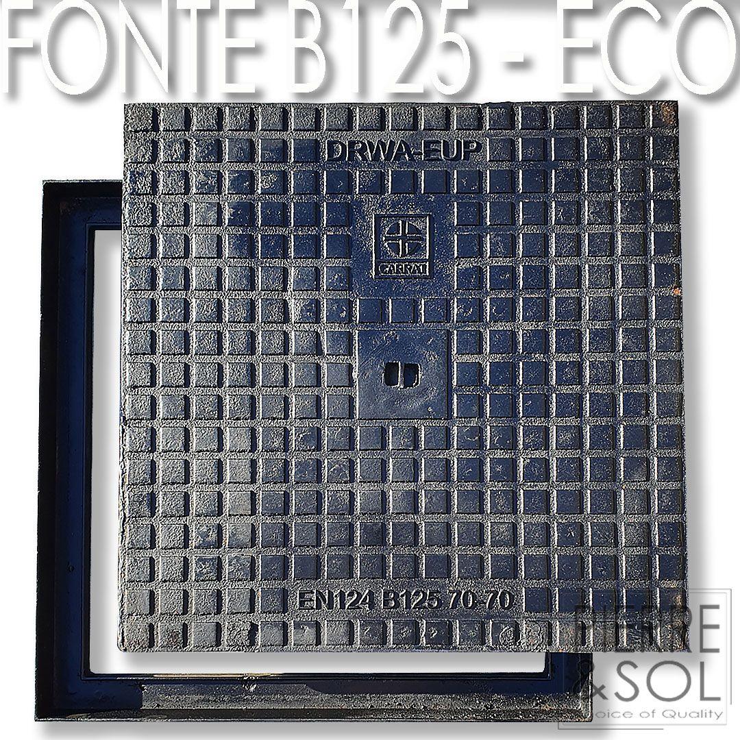 Regards Et Couvercles Hydrauliques En Fonte Ductile B125 - Eco avec Couvercle Regard 100X100