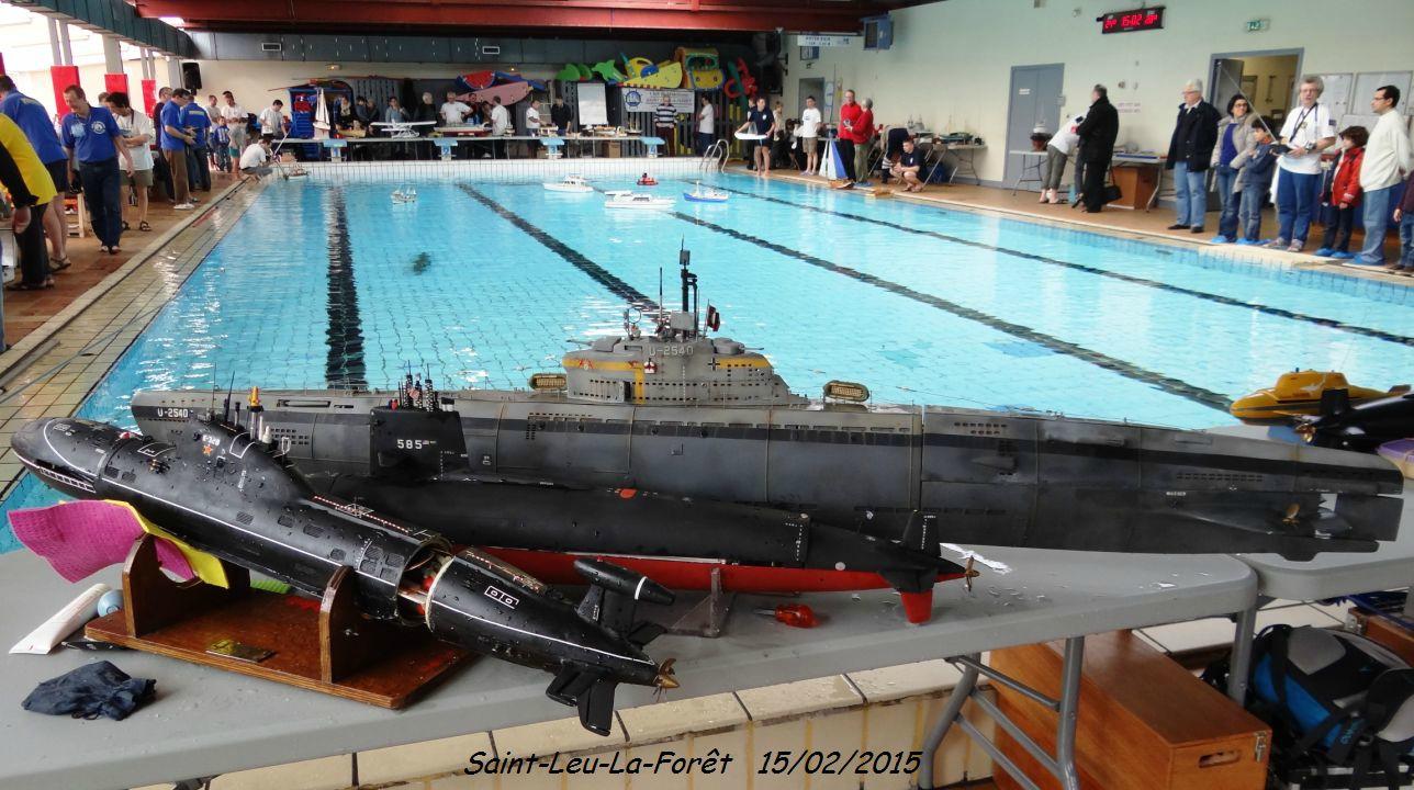 Rencontre Submarine Rc.-07- - Sous-Marins Modèles Et Réels. tout Piscine Saint Leu La Foret