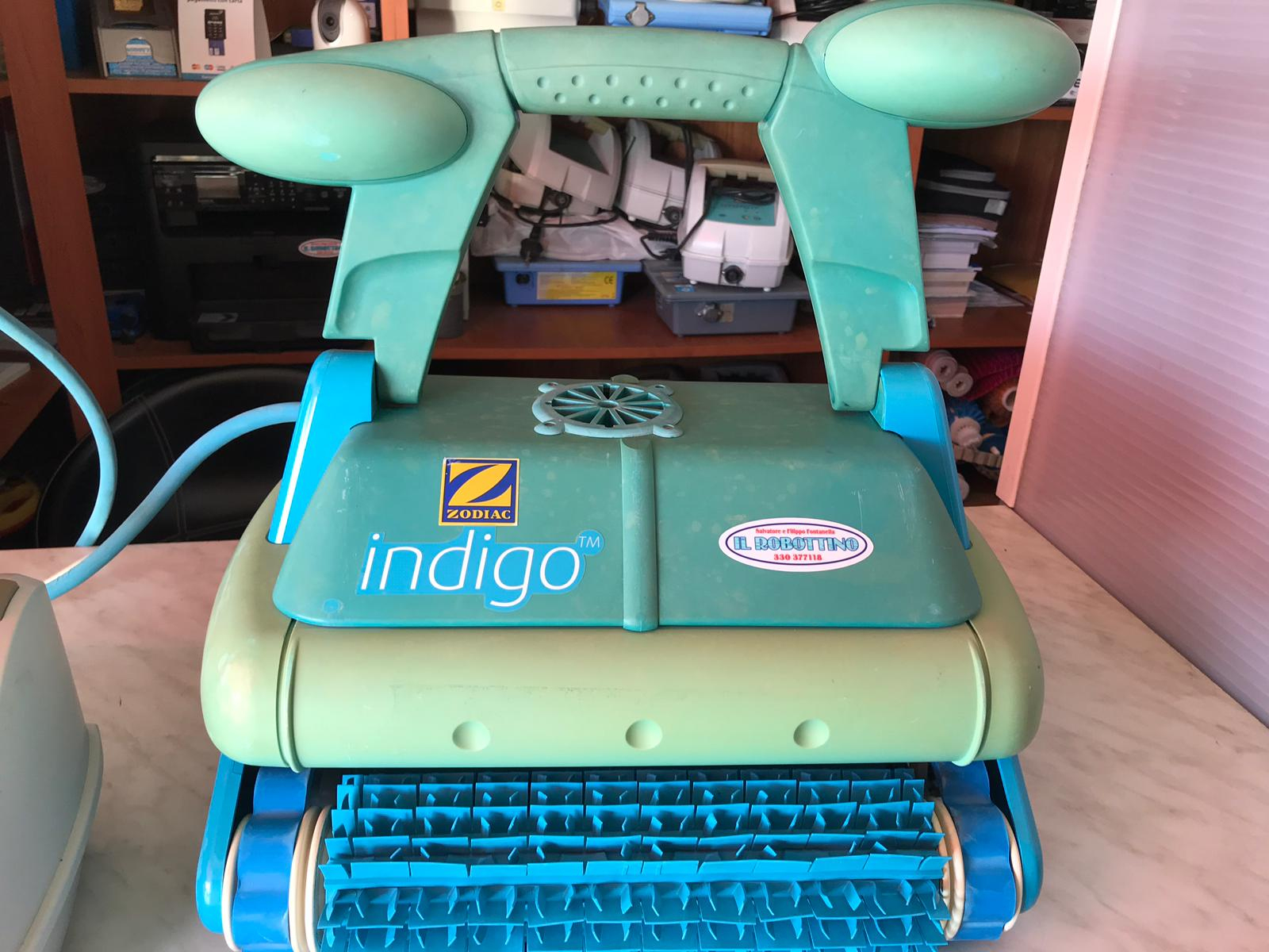 Robot Piscina Zodiac Indigo serapportantà Robot Piscine Zodiac Indigo