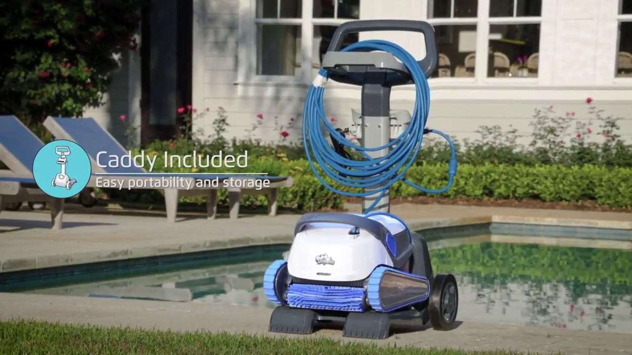 Robot Piscine Électrique Dolphin S300 - Démonstration - Robotpiscine.fr destiné Robot Piscine Dolphin S300