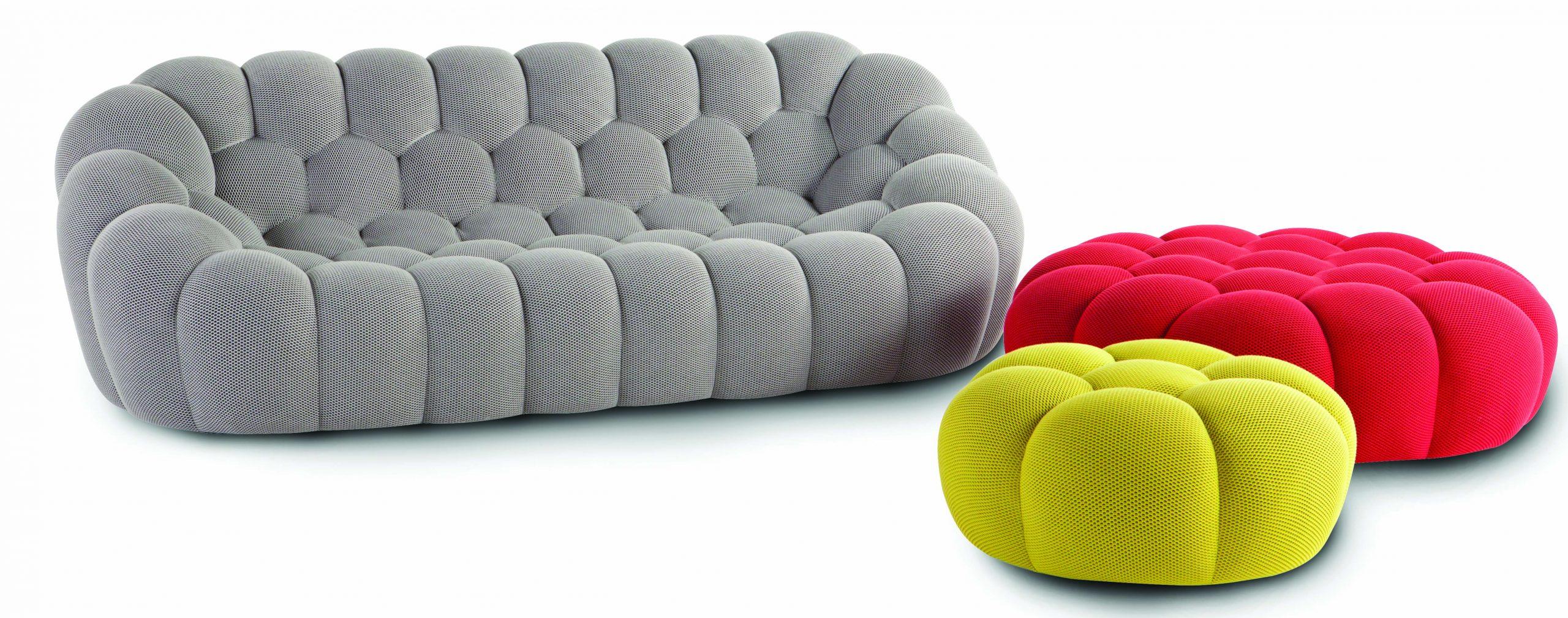 Roche Bobois | Bubble Collection, Designed By Sacha Lakic ... intérieur Pouf Roche Bobois Bubble