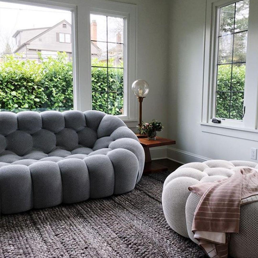 Roche Bobois | Bubble Sofa, Designed By Sacha Lakic | Canapé ... dedans Pouf Roche Bobois Bubble