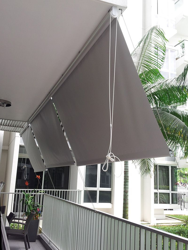 Roller Blinds Outdoor | Wohnung Balkon Dekoration, Outdoor ... dedans Paravent Leroy Merlin