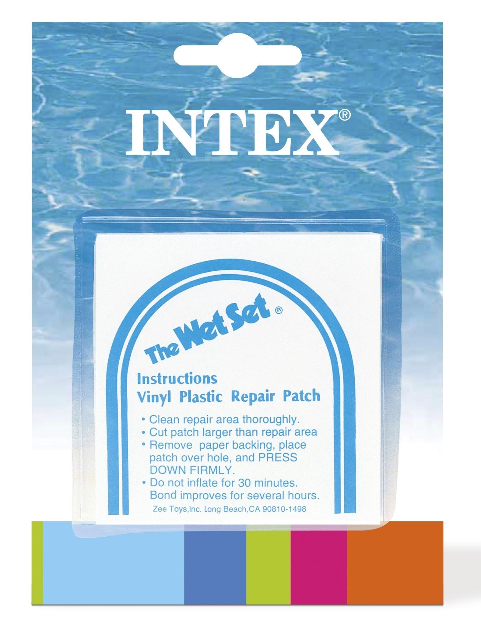 Rustine Pour Piscine 6 Pièces Intex - Mr.bricolage à Kit De Reparation Piscine Intex
