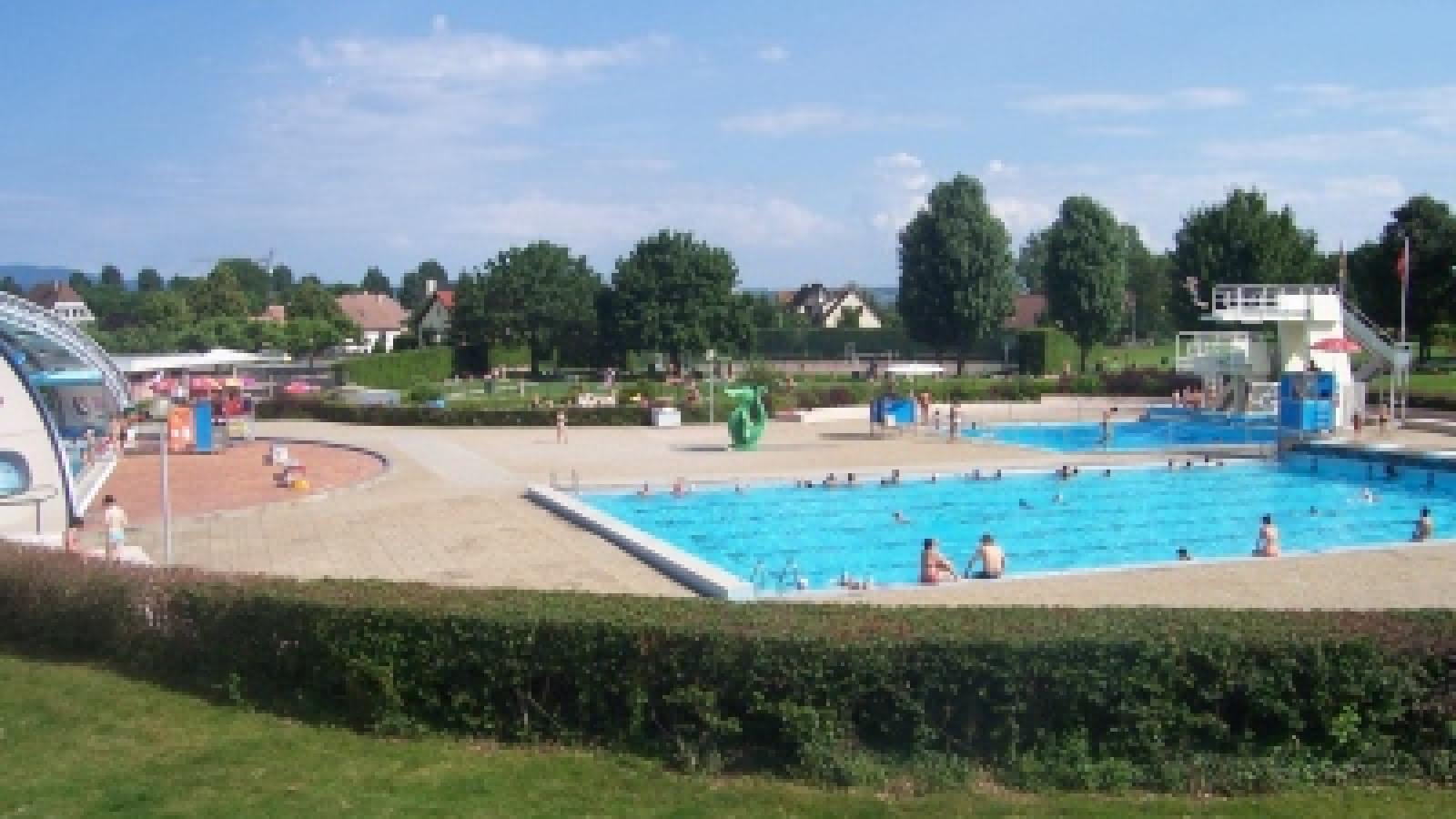 Schwimmbad - Ottmarsheim | Visit Alsace dedans Horaire Piscine Ottmarsheim
