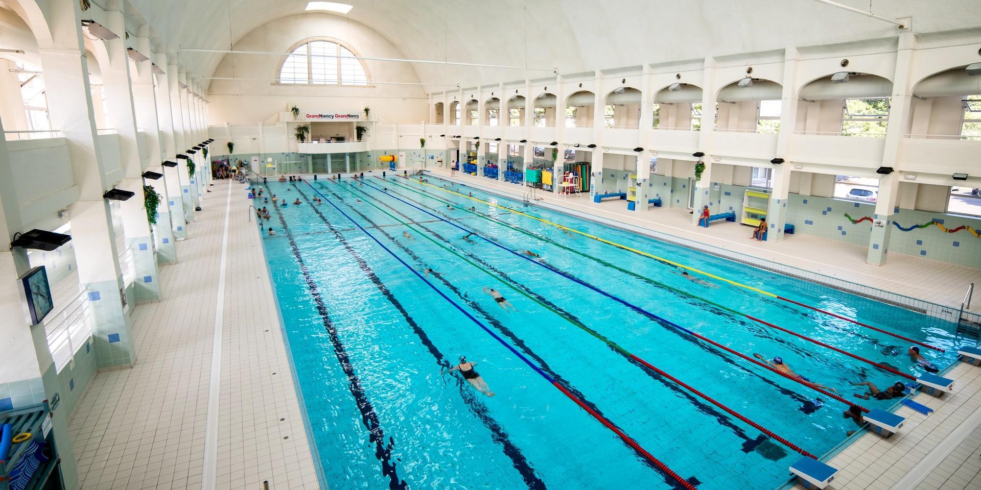 Schwimmbad Und Grand Nancy Thermal | Nancy Tourisme tout Piscine Du Lido