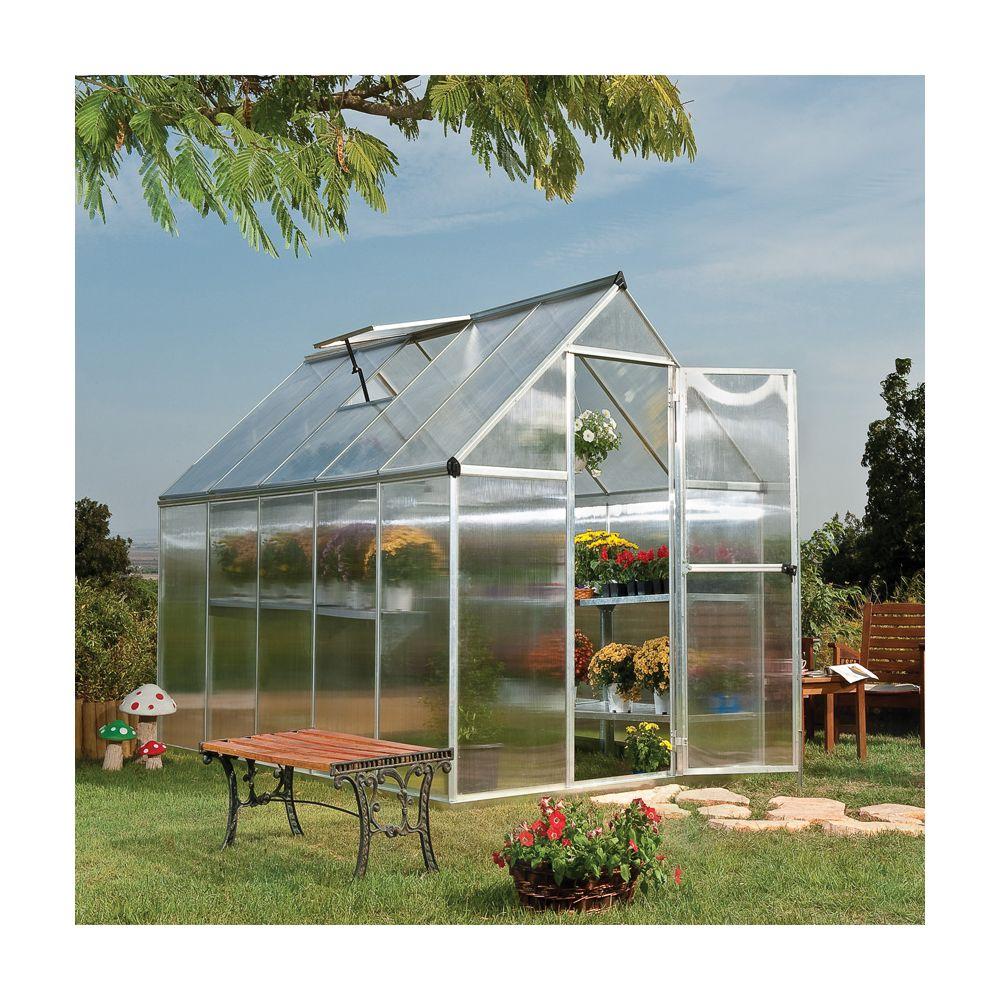 Serre D'Occasion De Jardin - Veranda Et Abri Jardin intérieur Serre Polycarbonate Occasion