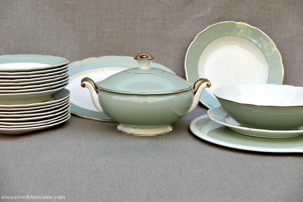 Service De Table Villeroy Et Boch - Rêve De Brocante à Villeroy & Bochvaisselle Ancienne Collection
