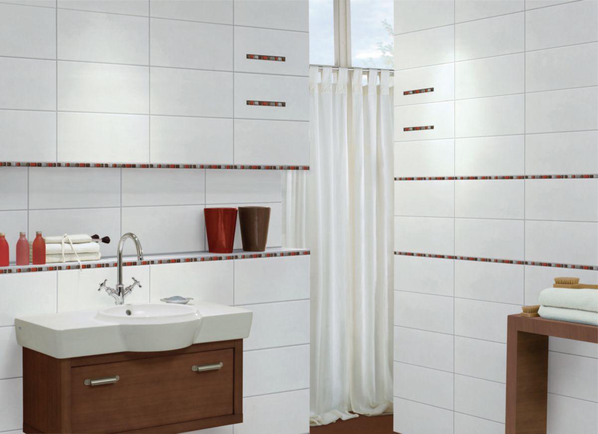 Steuler - Faïence Murale Intérieur Pure White - Blanc Mat ... pour Wandfliese Carreau Mural 20X40
