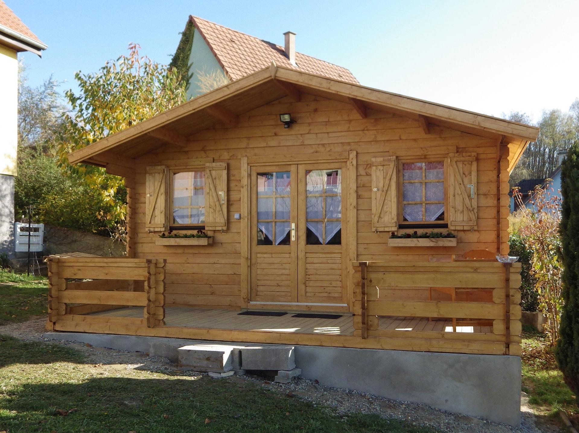 Stmb Construction, Maison De Jardin Et Chalet Habitable En Bois avec Maisonnette En Bois Pas Cher Occasion