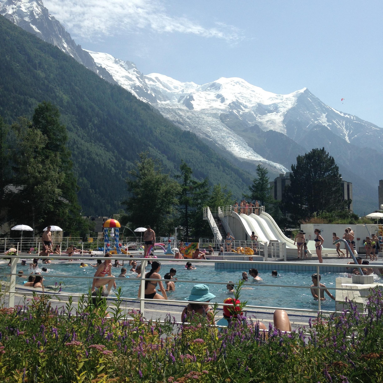 Summertime À La Montagne | Le Cerf Blanc dedans Piscine De Chamonix