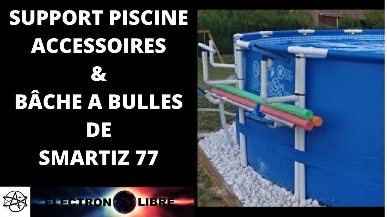 Support Piscine Accessoires & Bâche A Bulles De Smartiz 77 dedans Bache A Bulle Piscine Intex
