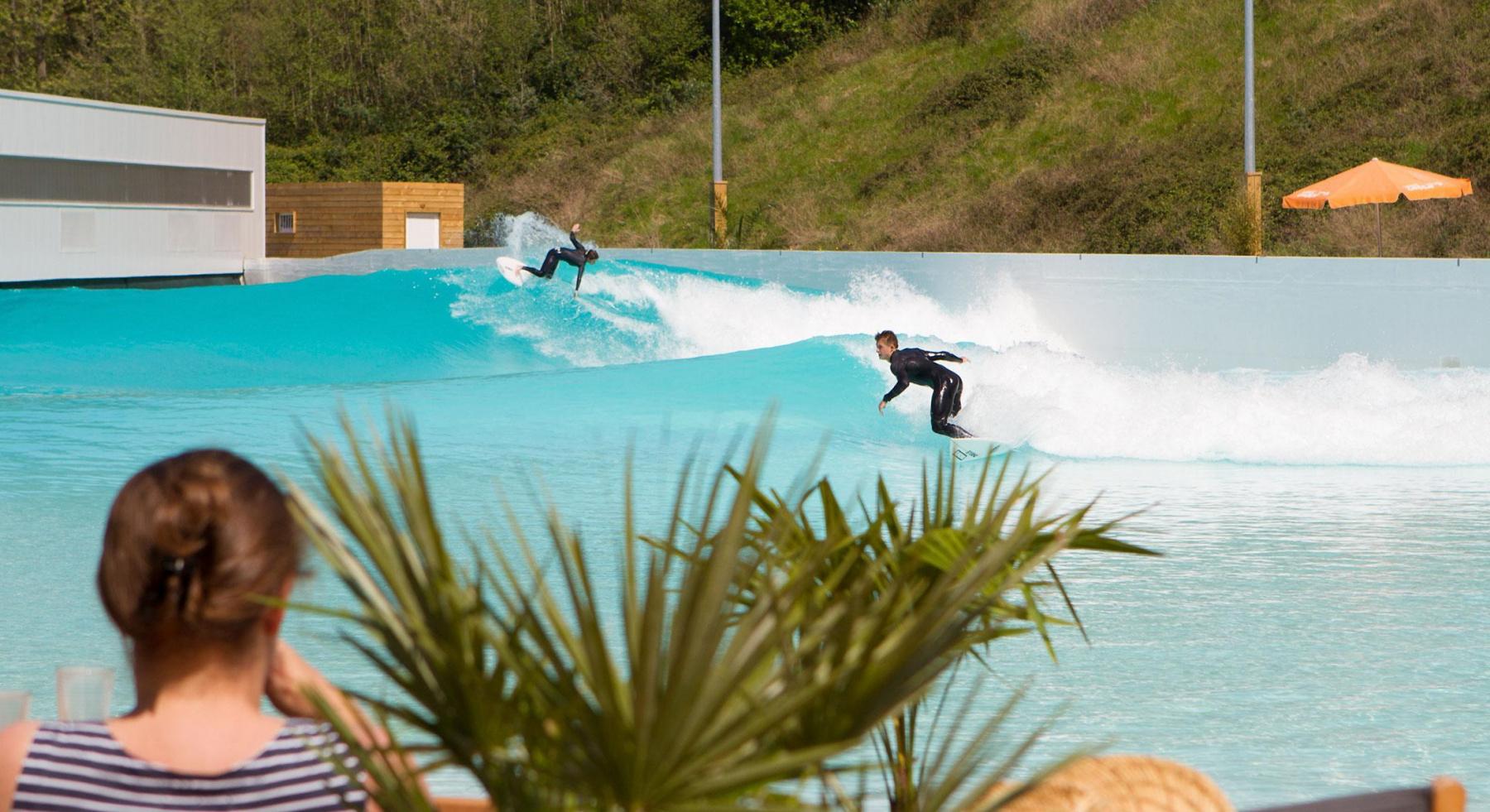Surf : La Future Piscine À Vagues De Sevran En Seine-Saint ... dedans Piscine De Sevran