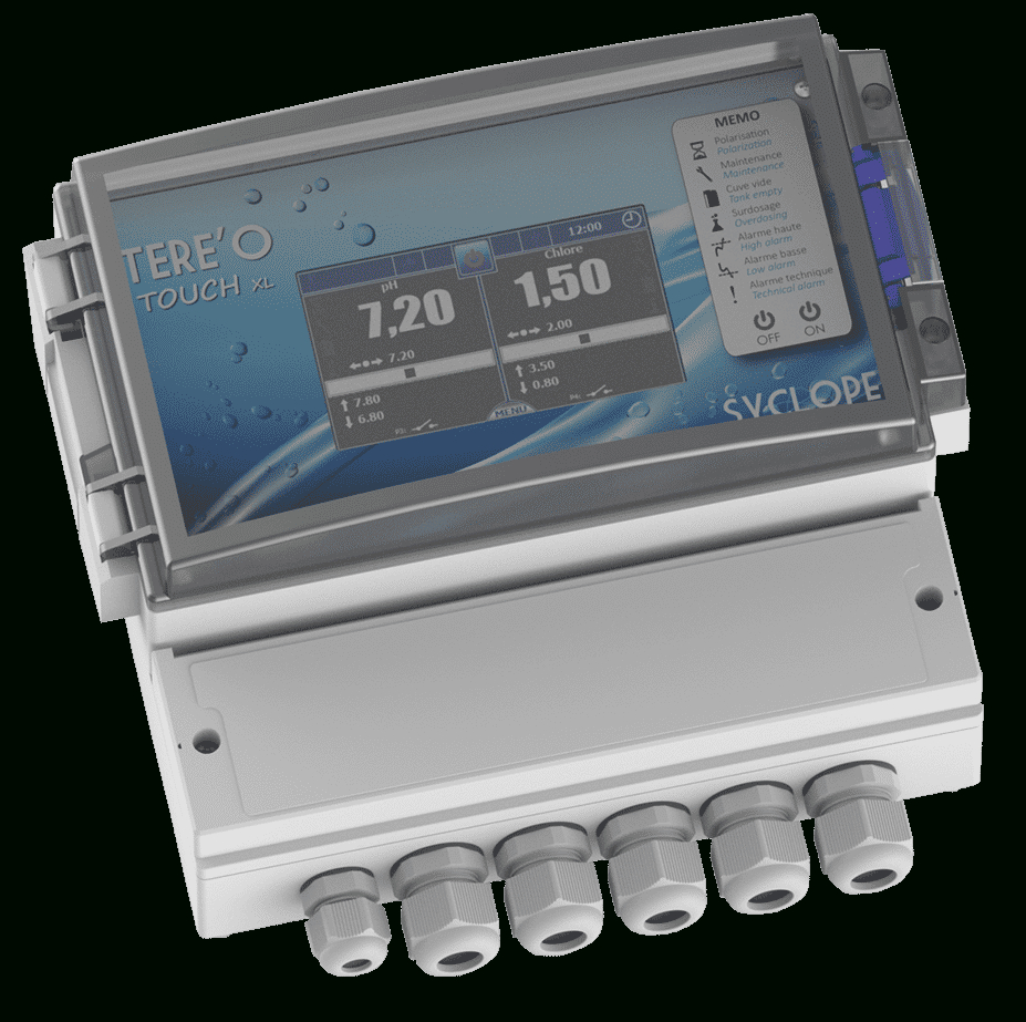 Tereo Touch Xl Range : Ph And Chlorine Control In Pools pour Hydro Touch Syclope
