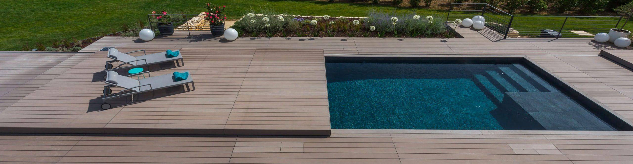 Terrasse Mobile Piscine Alkira : Tarifs Direct Usine serapportantà Couverture Terrasse Amovible