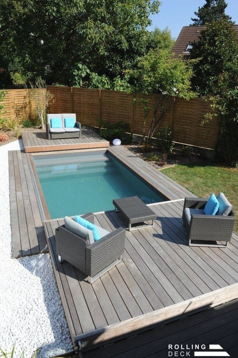 Terrasse Piscine Mobile #Gartenpoolklein #Gartenpool ... encequiconcerne Idee Terrasse Piscine