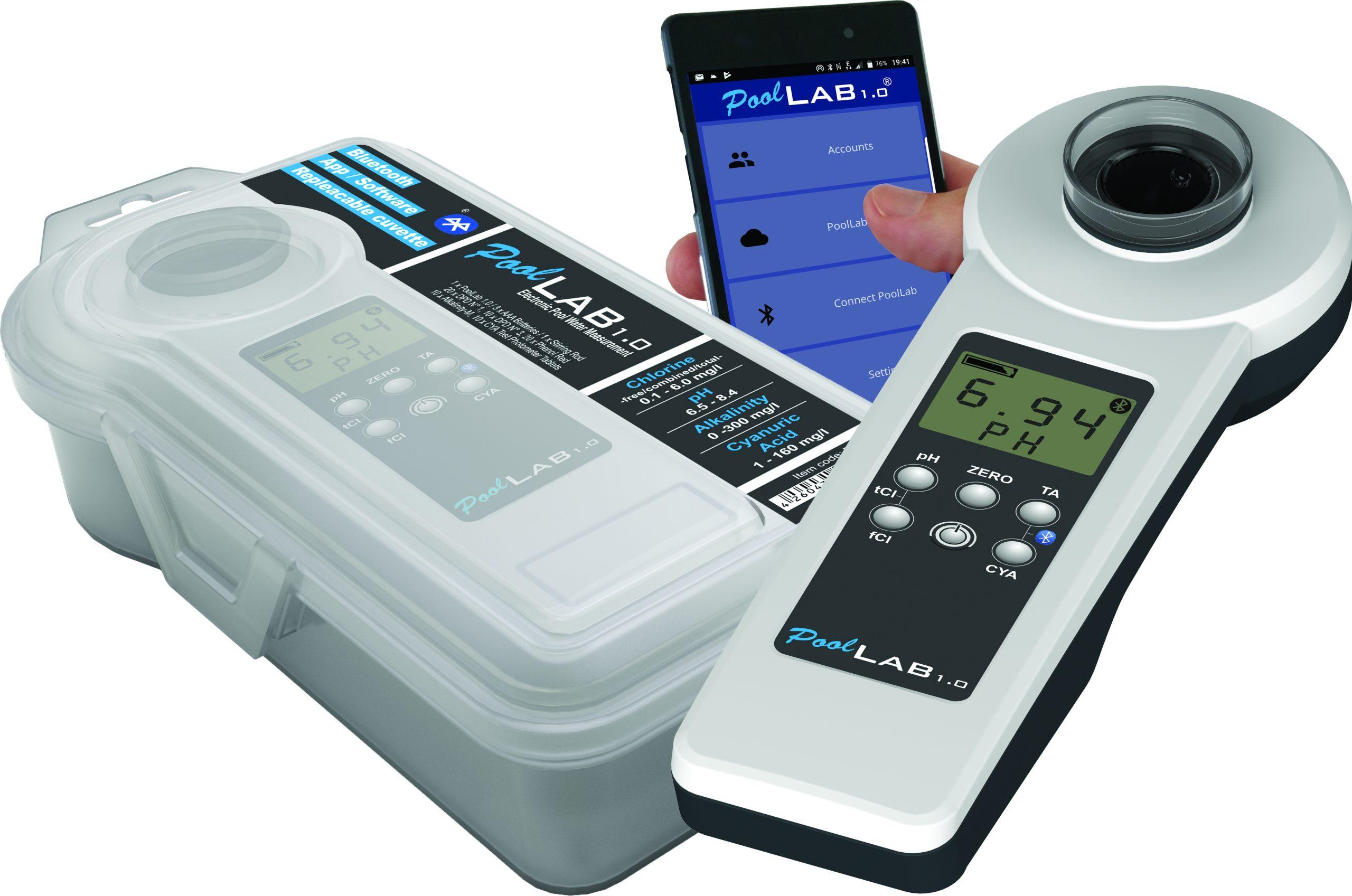 Testeur Électronique Pour Piscines - Photomètre Pool-Lab 1.0 serapportantà Photomètre Piscine