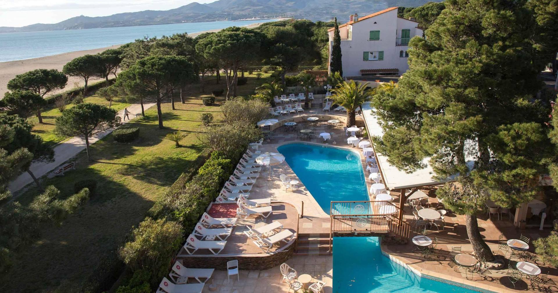 The 3 Star Hotel Le Lido, On The Beach In Argelès-Sur-Mer avec Piscine Du Lido