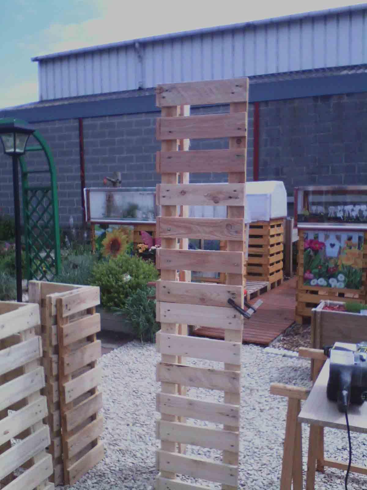 Tonnelle En Palette - Jardins Du Nord Forum Régional Site De ... encequiconcerne Fabriquer Une Pergola En Palette