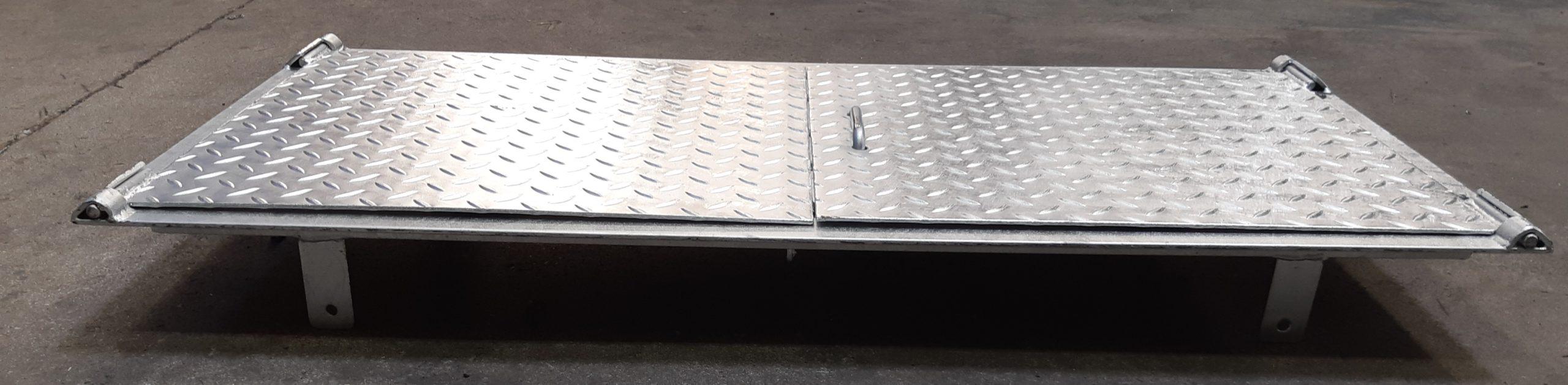 Trappe De Sol Acier – Scadametal tout Couvercle Larmé Pour Passage De Voiture