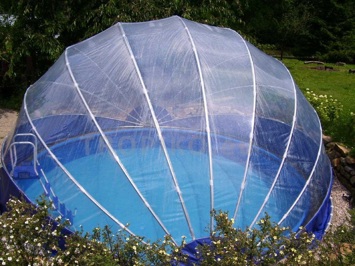Tropiko France   Abri De Piscine destiné Dome Piscine Hors Sol